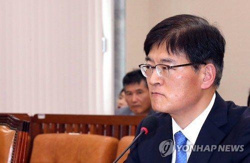 조경규 환경부 장관 후보자. 연합뉴스