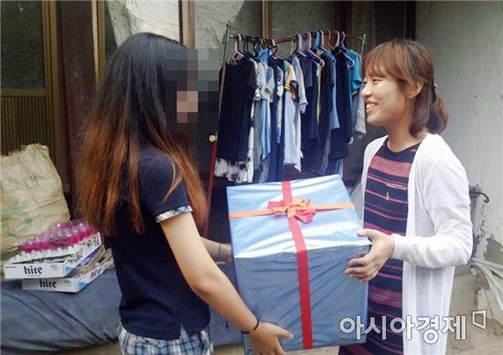 장흥군, 저소득가정 여학생 '생리용품'6개월분 지원