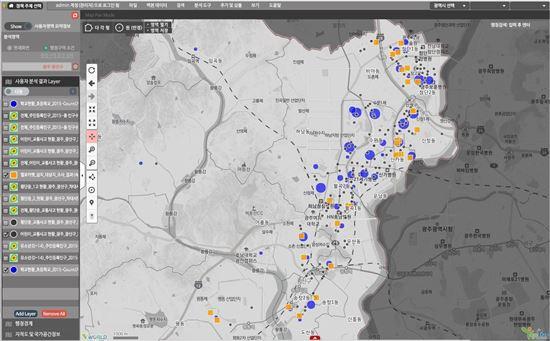 GIS 데이터 분석시스템