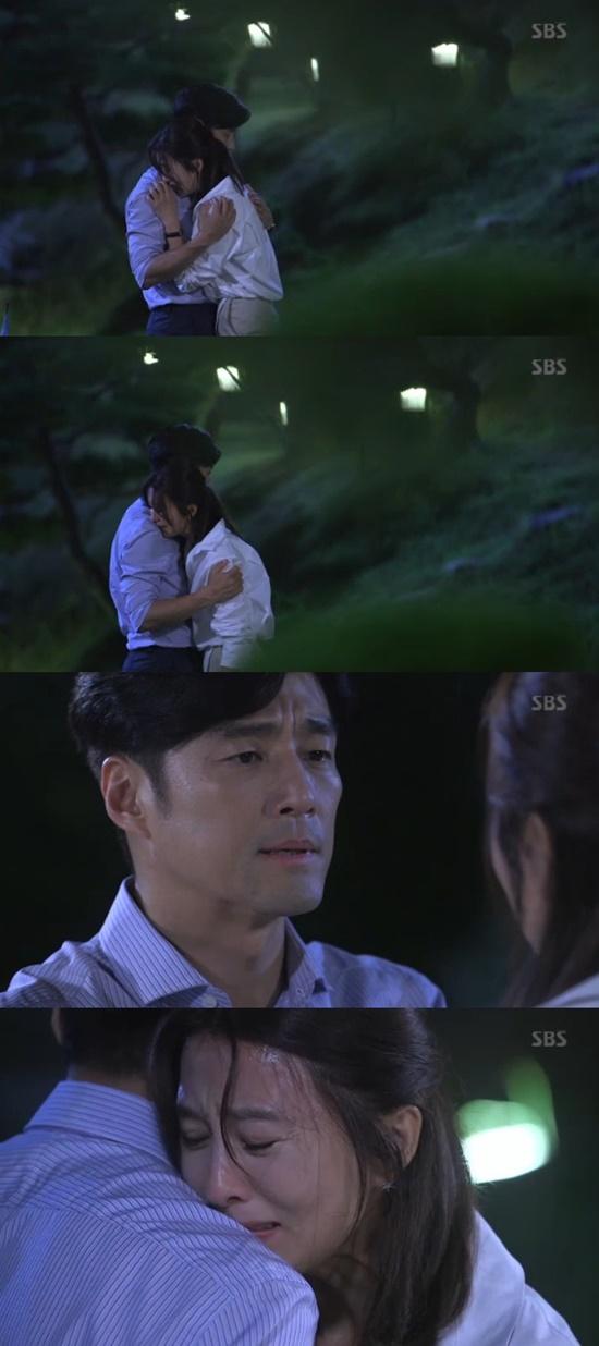 김희애 지진희. 사진=SBS '끝에서 두 번째 사랑' 방송 캡쳐