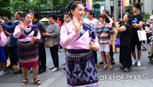 [포토]신기한 태국 전통 무용