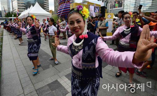 [포토]화려한 태국 전통 무용