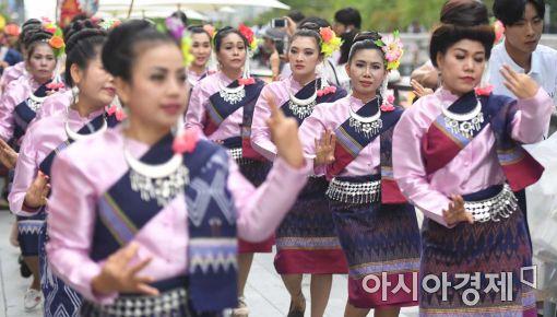 [포토]서울 한복판에서 만나는 태국