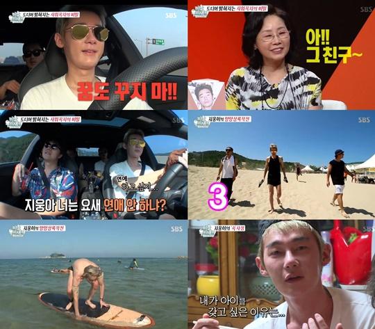 허지웅. 사진=SBS '미운 우리 새끼' 방송 캡쳐