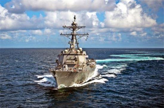 최근 1차 해상 시험을 마친 미해군 이지스 구축함(플라이트IIA) 존핀함