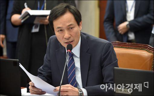 우상호 더민주 원내대표, '통신 기본료 폐지법' 국회 발의