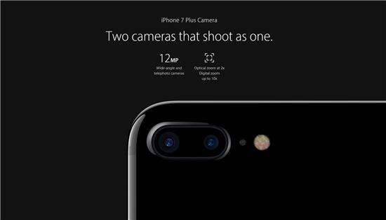 아이폰7(사진:애플 홈페이지)
