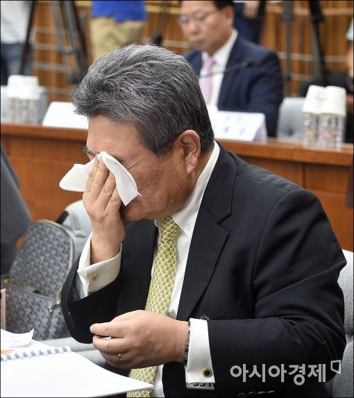[포토]피곤한 청문회