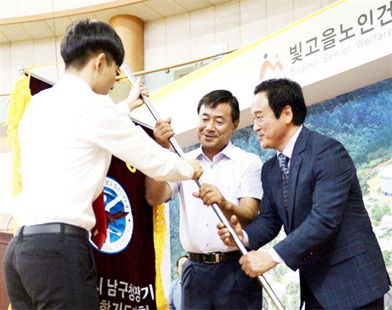 [포토]광주 남구, 제8회 남구청장기 합기도대회