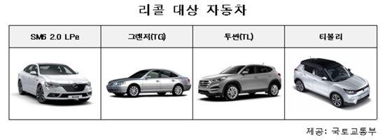르노삼성·현대·쌍용차, 엔진·변속기 등 결함 '3.3만여대' 리콜