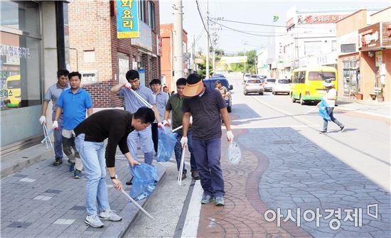 """영암군 신북면, """"추석 명절맞이 대청소, 손님맞이 준비"""""""