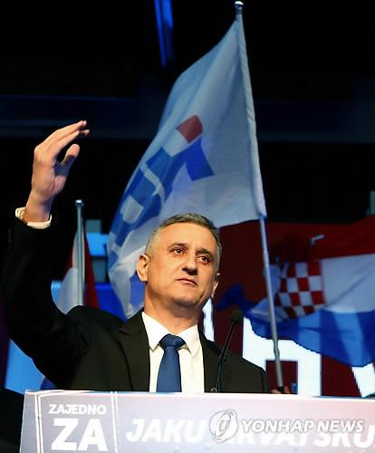 지난해 11월 크로아티아 총선 당시 모습/사진=연합뉴스