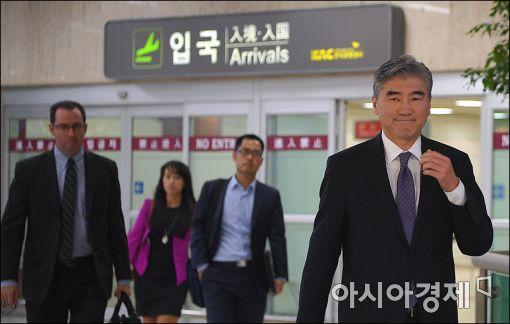 [포토]성김 美6자수석 방한
