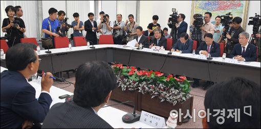 [포토]'한진해운 및 국민안전 종합점검 당정간담회'