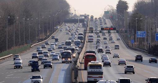 추석 귀성차량 행렬(사진=아시아경제 DB)