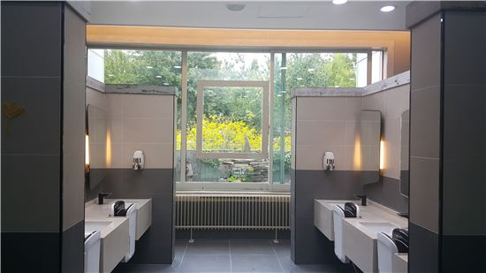 대보유통, 휴게소 화장실 전면 개편…명품 화장실로 거듭
