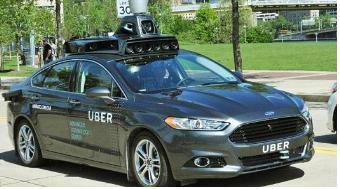 우버 자율주행 택시(사진=우버)
