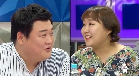 김준현 이수지. 사진=MBC '라디오스타' 방송 캡쳐