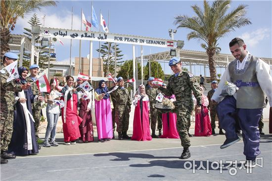 우리 군은 연간 세계 16개국에 연인원 1만여 명을 파병했다. (사진제공=합동참모본부)
