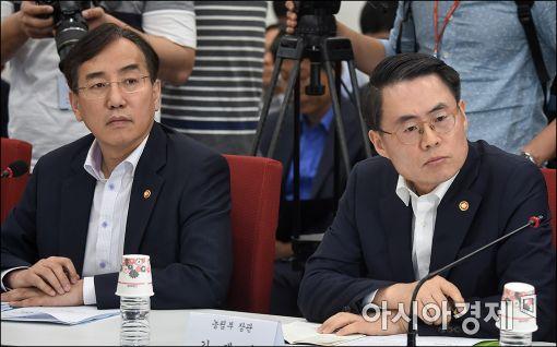 [포토]심각한 김재수 농림부 장관