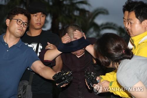 제주 성당 피습 사건 피의자. 사진=연합뉴스 제공