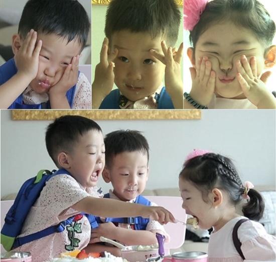 서언 서준 아린. 사진=KBS2 '슈퍼맨이 돌아왔다' 방송 캡쳐