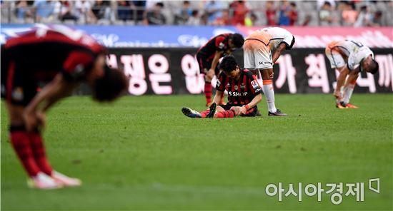 [포토]서울-제주, '아쉬운 0-0 무승부'