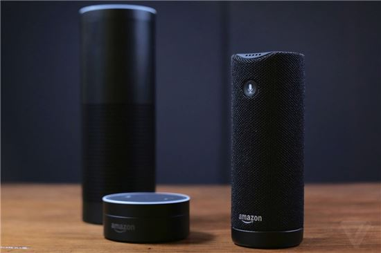 아마존의 인공지능 '알렉사'가 적용된 음성인식 스피커 에코