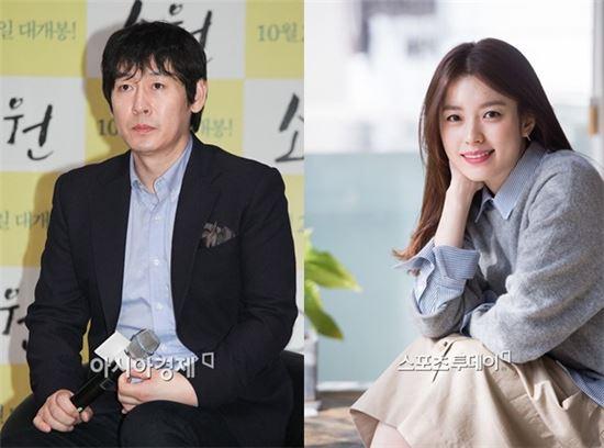 제21회 부산국제영화제 MC 배우 설경구, 한효주