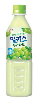 롯데칠성음료, '밀키스 무스카토' 출시