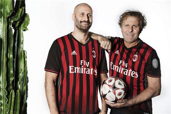 디젤, 이탈리아 대표 축구단 AC 밀란과 파트너십 체결
