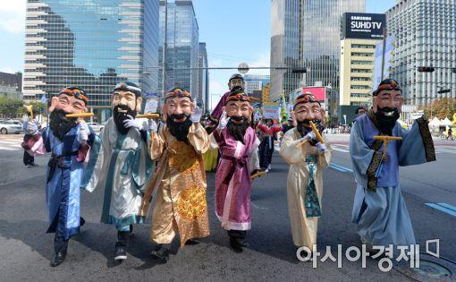 [포토]'대한민국 생일을 축하합니다'