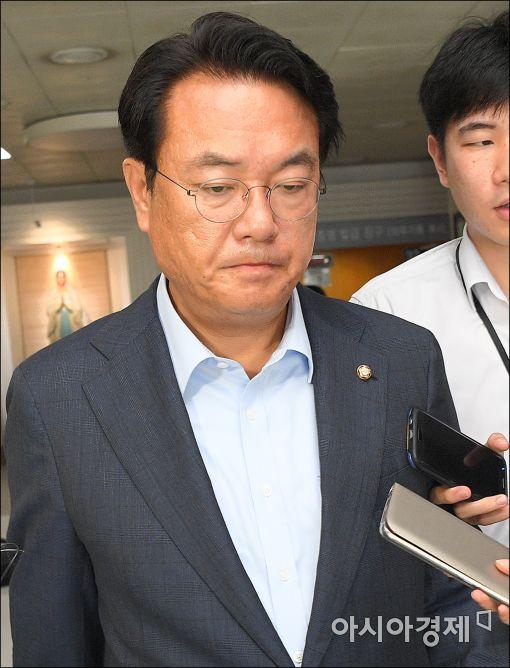 [포토]고개숙인 정진석 원내대표