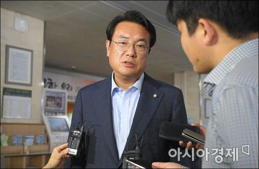 [포토]성모병원 찾은 정진석 원내대표
