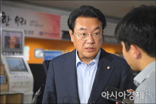 """[포토]""""이정현 대표 만나고 왔습니다"""""""