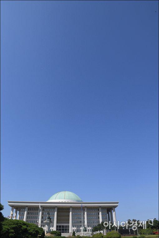 [포토]구름 한점 없는 가을하늘