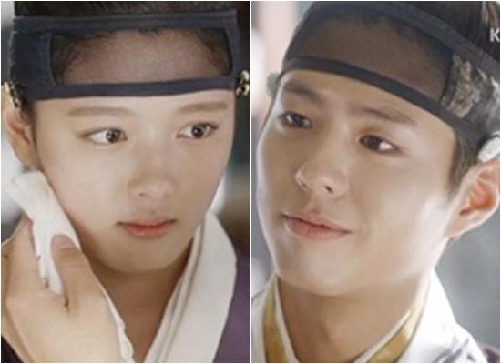 김유정, 박보검. 사진=KBS2 '구르미 그린 달빛' 방송 캡처