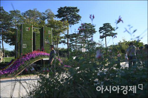 [포토]도심의 쉼터 정원박람회