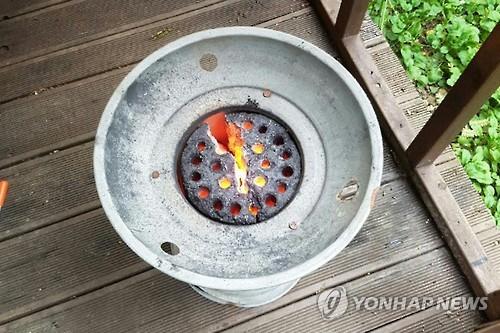 광양 펜션에서 연탄불 피운 뒤 남녀 동반자살. 사진=연합뉴스 제공