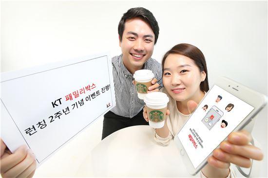 [포토]KT 패밀리박스, 론칭 2주년 기념 이벤트