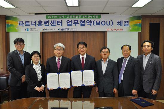 인천대-인천인력개발원 '바이오 인력양성 교육' 협약