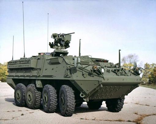 30mm 주포를 탑재한 화력강화형이 곧 나올 스트라이커 장갑차