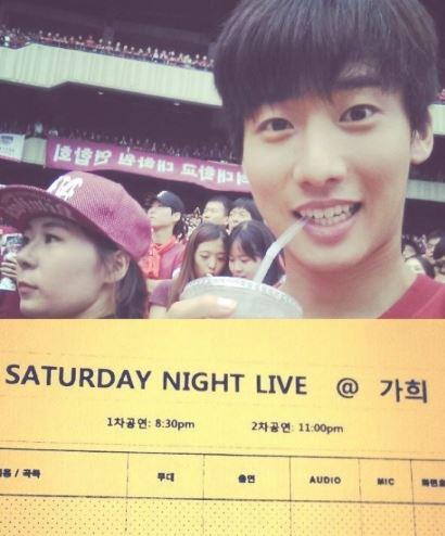 최창엽이 tvN 'SNL'에서 인턴할 당시 공개한 큐시트. 사진=최창엽 SNS 캡쳐