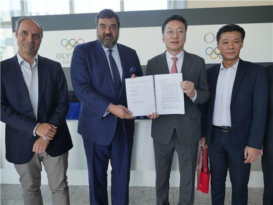 KT, 2018 평창동계올림픽대회 방송중계망 계약 체결