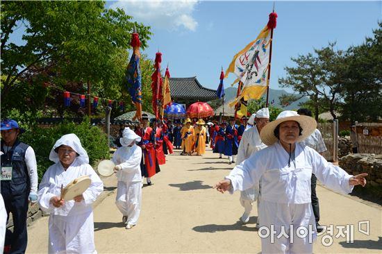 조선시대 역사와 전통이 살아있는 순천 낙안읍성에서 14일~16일까지 제23회 낙안민속문화축제가 '2020 세계문화유산등재, 낙안읍성 세계인의 품으로'라는 주제로 열린다.