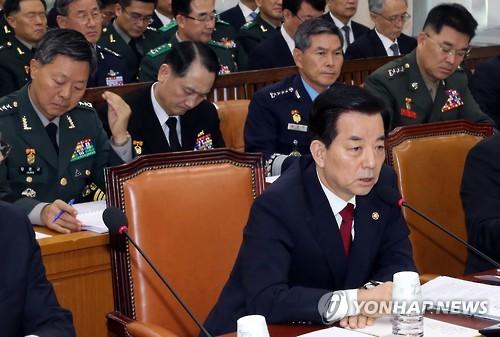 한민구 국방부 장관, 사진 제공=연합뉴스