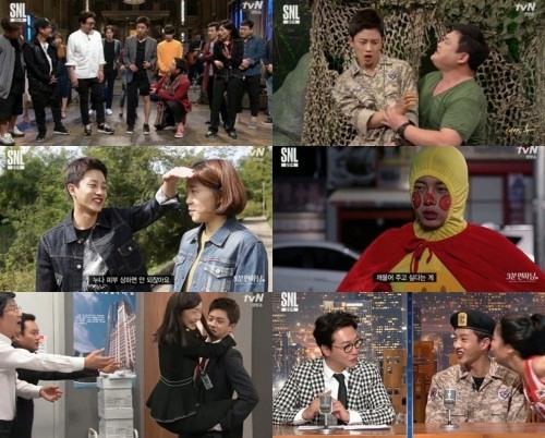 김민석. 사진=tvN 'SNL 코리아8' 방송 캡쳐