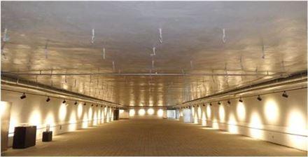 여의도 지하벙커 내부전경(자료:서울시)