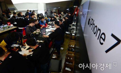 아이폰7 출시로 이통시장 훈풍…지원금 대거 확대