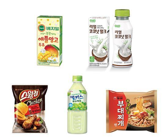 식품업계 장수 브랜드, 새로운 길 찾으니 매출 쑥쑥
